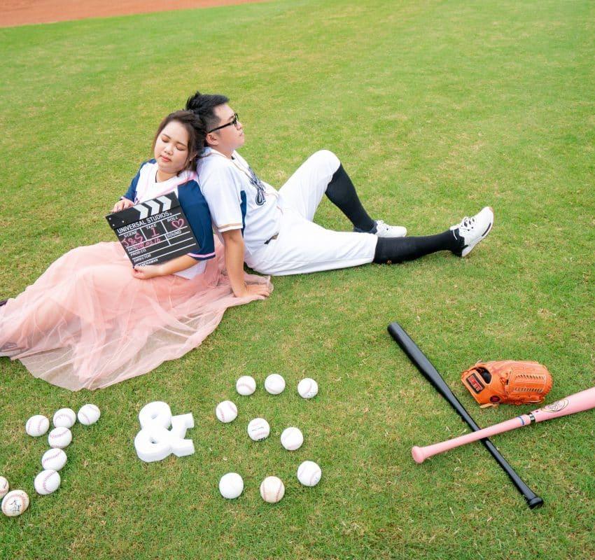 【棒球婚紗】台中婚紗
