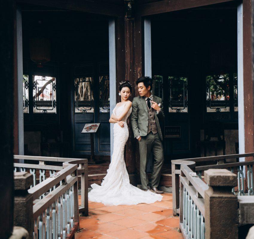 板橋林家花園婚紗 | 台北自助婚紗